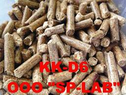 Wood pellets - pine/larch - 6-8 mm - Ash content: up 0.5%
