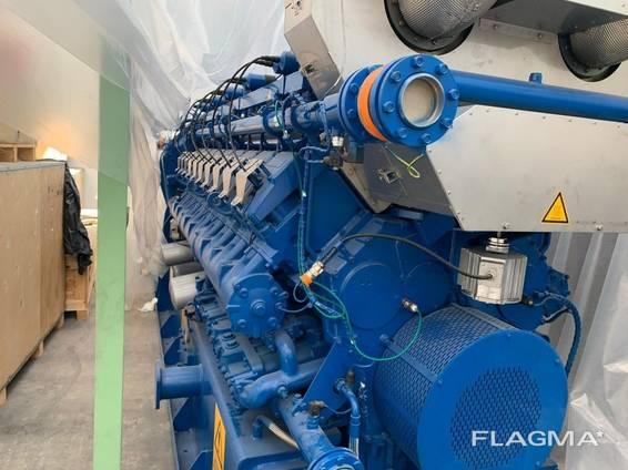 Б/У газовый двигатель MWM TCG 2020V20, 2 мвт