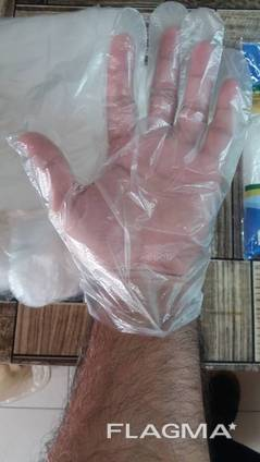 Gloves disposable .