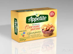 Appetito Margarine for puff pastry 82%