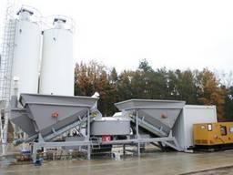 Мобильный бетонный завод F-2200 (60-80 м3/час) Швеция