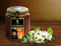 Natural mountain honey Kyrgyz Honey